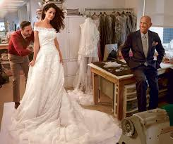 Wedding Designer Amal Alamuddin U0027s Dress For Wedding To George Clooney Vogue