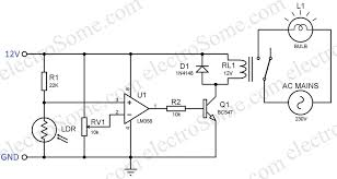 ldr circuit diagram 9v on ldr images free download wiring