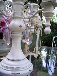 Adding Crystals To Chandelier The Polka Dot Closet How To Add Chandelier Crystals To Anything