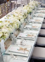 Wedding Centerpieces For Round Tables by Best 25 Beach Wedding Centerpieces Ideas On Pinterest Beach