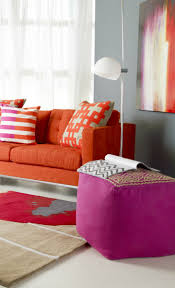 Red Furniture Living Room Best 20 Orange Sofa Ideas On Pinterest Orange Sofa Design