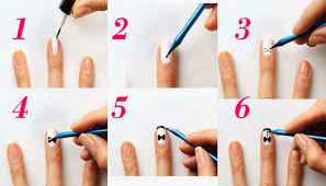 steps of nail art design images nail art designs
