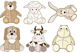 Animal Wall Decals For Nursery Stuffed Animal Zoo Wall Sticker Set Great Nursery Animals