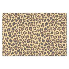 leopard print tissue paper cheetahs craft tissue paper zazzle