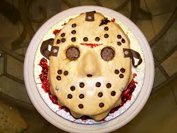 Halloween Coffin Cake by Jason Voorhees U0027 Mask From Friday The 13th Vanessa U0027s Halloween