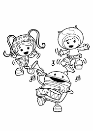 team umizoomi coloring pages dancing coloringstar