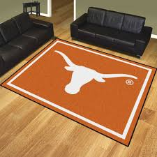 Texas Longhorn Home Decor Of Texas Longhorns Area Rug Nylon 8 U0027 X 10 U0027