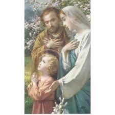 holy family personalized prayer cards priced per card the