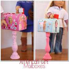 mailbox craft american girl craft mailboxes