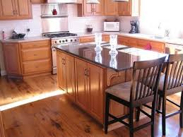 inspiring kitchen colors light wood cabinets with solid surface