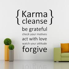 aliexpress com buy karma cleanse happiness decal wall decal aliexpress com buy karma cleanse happiness decal wall decal quote vinyl wall stickers art scripture bible verse 46