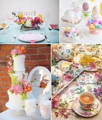 themed wedding shower how to plan an easter themed bridal shower party