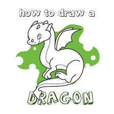 how to draw how to draw a dragon for kids hellokids com