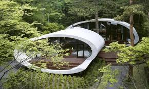 small modern glass waterfall construction interior design ideas