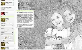 from photos to coloring pages or sketches centsational style