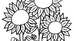 coloring page for van van sunflower colouring pages kids coloring van coloring pages van