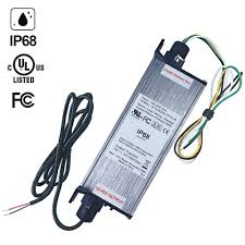 low voltage outdoor lighting transformers ul authenticated 12v waterproof ip68 power supply driver