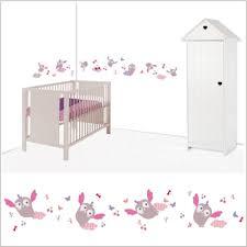 frise murale chambre bébé stickers frise hiboux lili pouce stickers appliques