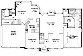 Plan House by 4 Bedroom 2 5 Bath House Plans Nrtradiant