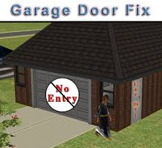 mod the sims only vehicles can use garage doors