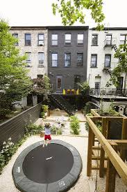 best outdoor living space 2017 a brooklyn backyard in black by