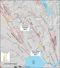 california map napa m6 south napa california earthquake august 24 2014