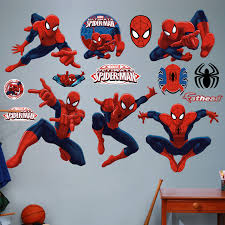 fathead marvel ultimate spider man big wall decal wayfair fathead marvel ultimate spider man big wall decal