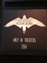 home movie in theaters miss peregrine u0027s home for peculiar children movie logo collider