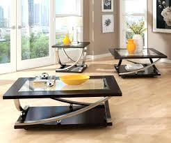 glass coffee table set of 3 coffee table sets canada peekapp co