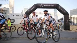 mercedes benz bicycle mercedes benz bike tour cadimar vijerez youtube