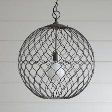 Sphere Ceiling Light Hoyne Pendant In Pendant Lighting Reviews Crate And Barrel