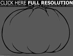blank pumpkin coloring pages virtren com