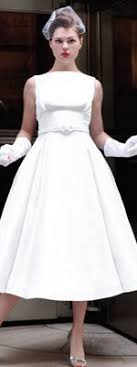 hepburn style wedding dress the spotlight unique vintage rock n roll