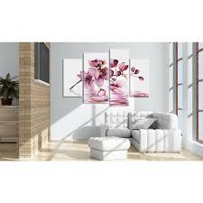 Bimago Fiori by Quadro Canvas Orchidea Sopra Lo Specchio Dell U0027acqua Orchidee