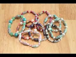 bead bracelet make necklace images Diy paper bead bracelets jpg