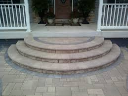 patio ideas with pavers concrete porch steps design the age old debate u2013 paver patio vs