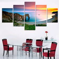 ocean decorations for home aliexpress com buy new 5 pieces sets canva art canvas painting