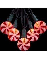 Red And White Christmas Lights Spectacular Deal On Set Of 20 Peppermint Twist Red And White Candy