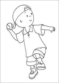 hat raincoat and rubber boots to dress up caillou a rainy day