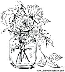printable coloring pages of pretty flowers coloring pages of flowers coloring pages flowers this is flower