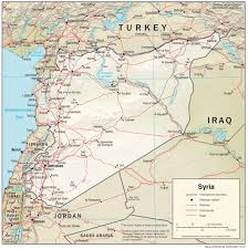 syria maps perry castañeda map collection ut library