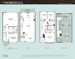 townhouse plan gh floorplans marshall 021215 2550 grosvenor heights new luxury