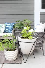 modern family garden summer in style outdoor edition garden patio u2014 chic little house