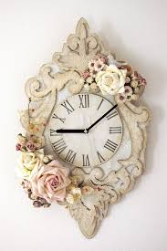 best 25 shabby chic clock ideas on pinterest unique alarm