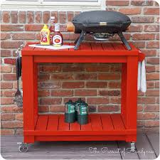 Topgrill Patio Furniture by Tabletop Grill Cart Diy