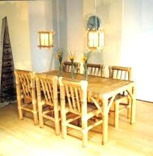 cheap dining room table sets bamboo dining set dining furniture bamboo ideas