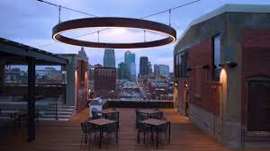 Outdoor Suspended Lighting Aura Outdoor Suspended Led Wood Ring