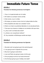 the imperfect tense in spanish by sanferminuk teaching resources