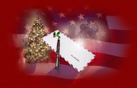christmas letter to loved ones serving in the military patriotic