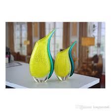 Modern Glass Vase 2017 Sale Modern Vases Murano Glass Vases Pure Handmade Two